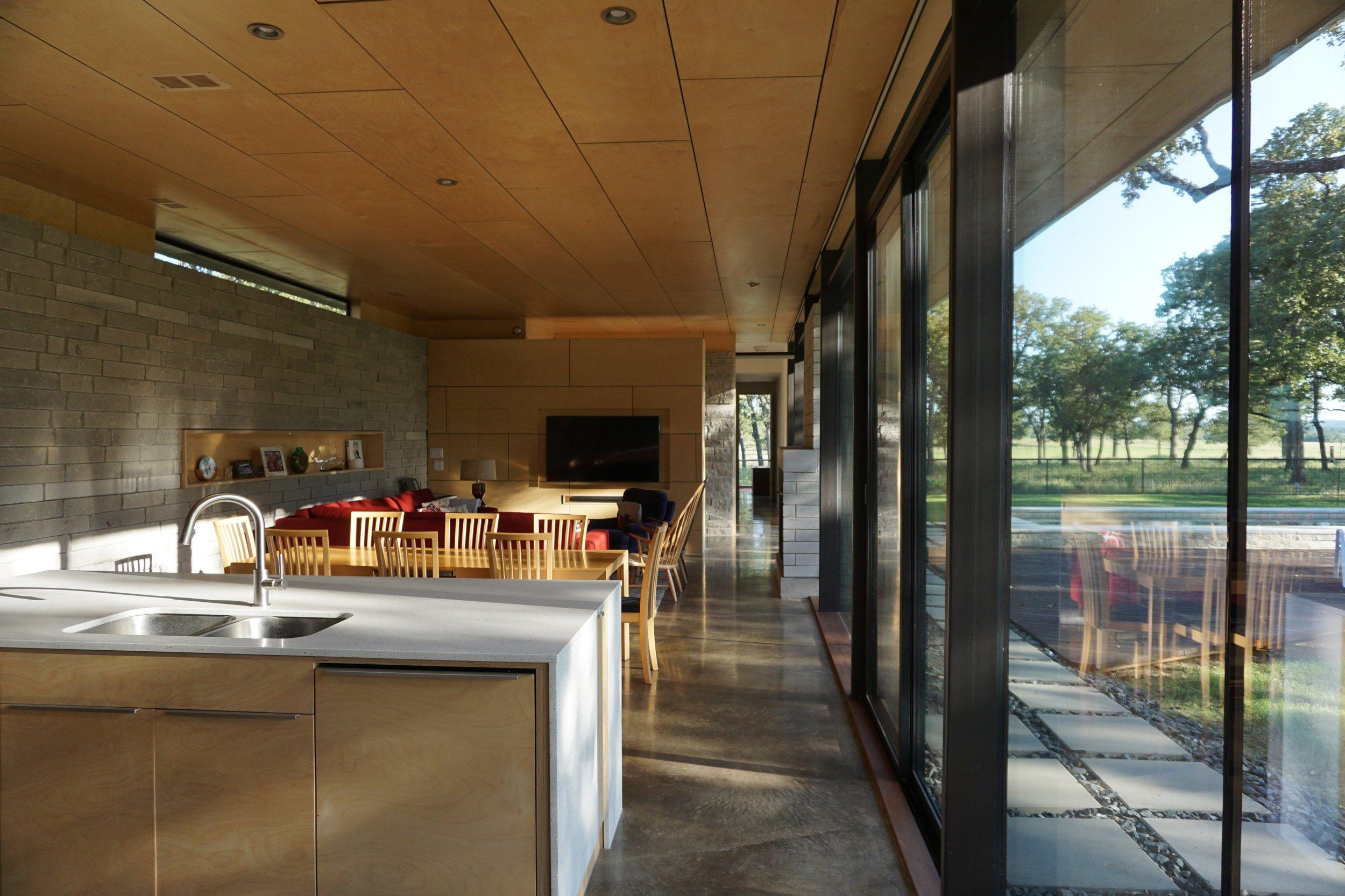 Fredricksburg  Modern Ranch -