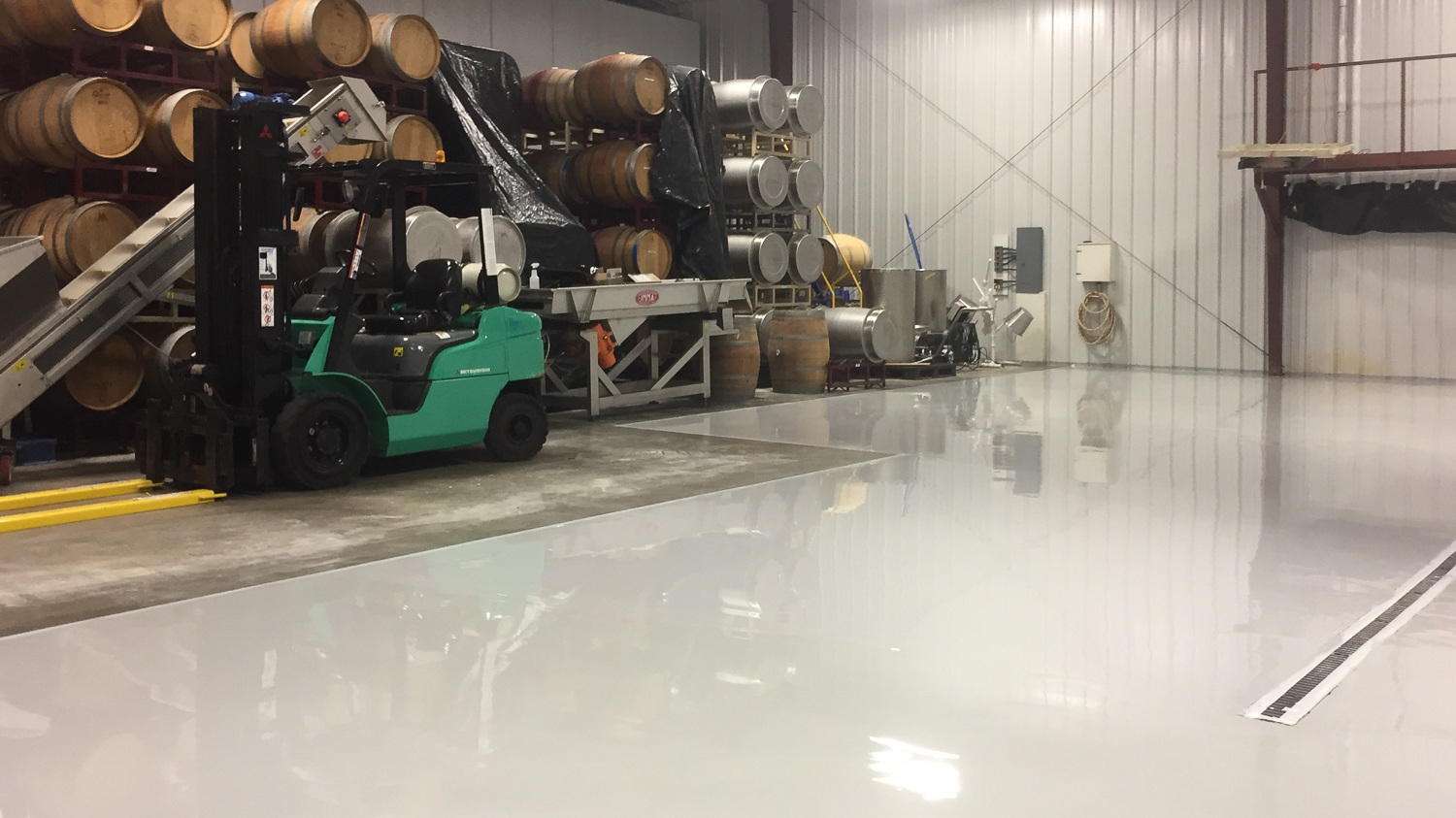 Industrial Concrete Coatings - Industrial Concrete Coatings are needed for extreme chemical resistance.