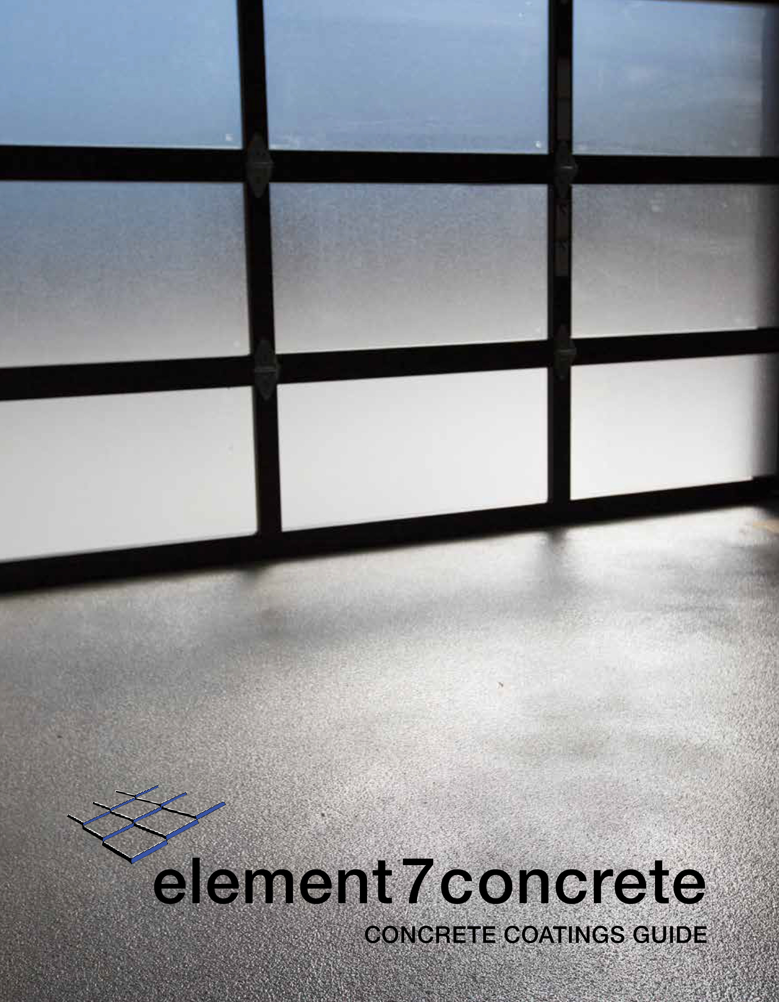 View our concrete coatings guide. - Contact us for custom sample sets for your sales office.