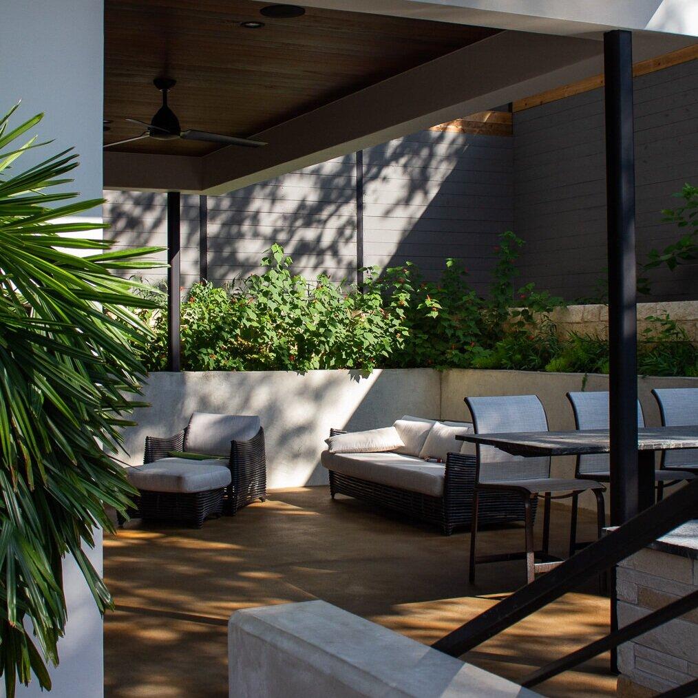 - Thin-Finish Overlay Outdoor Living