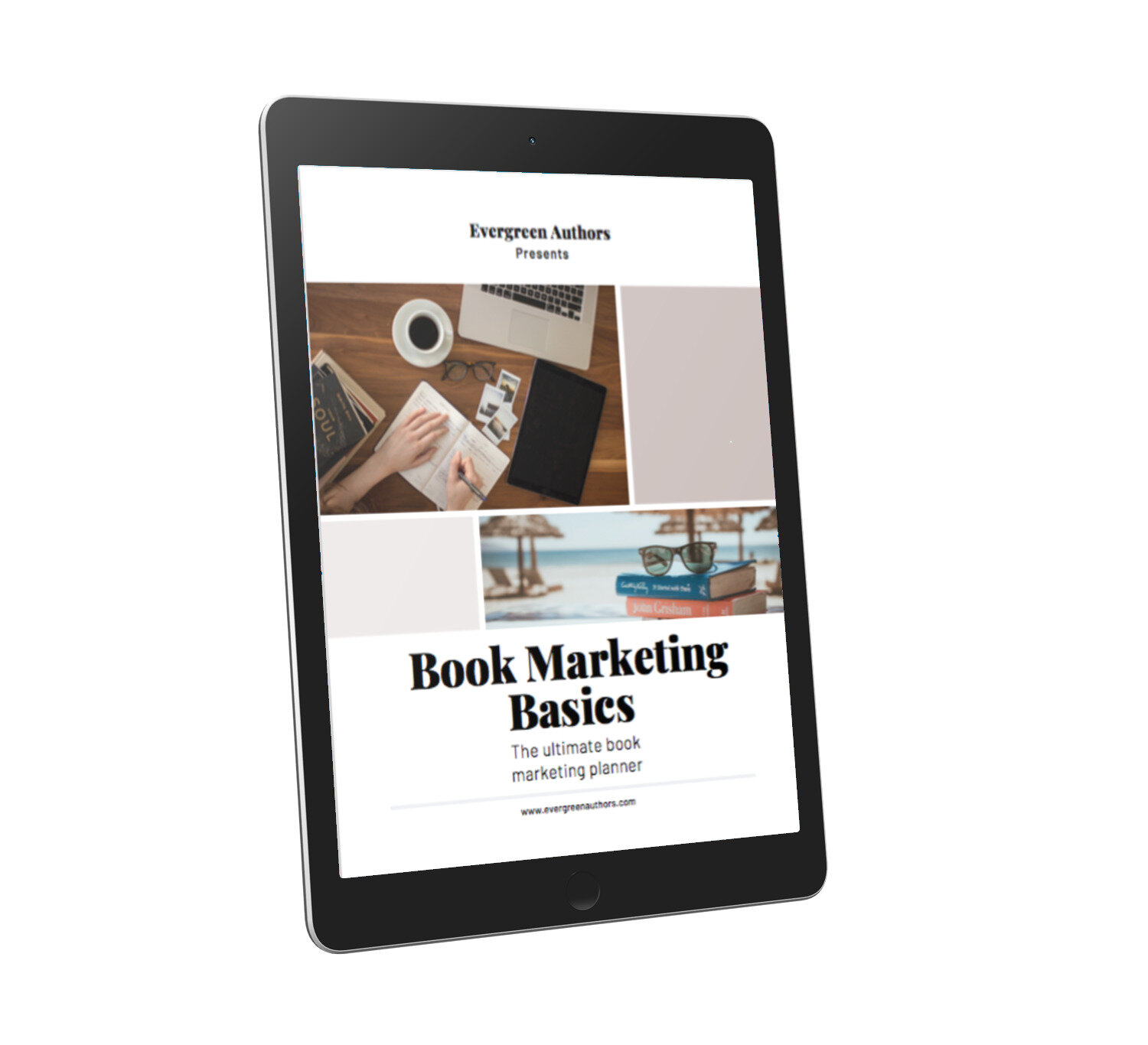 Free book marketing planner for indie authors!