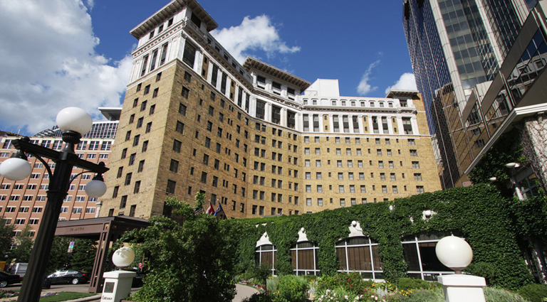The Saint Paul Hotel  350 Market St, St Paul, MN 55102 (651) 292-9292 ·  website >>