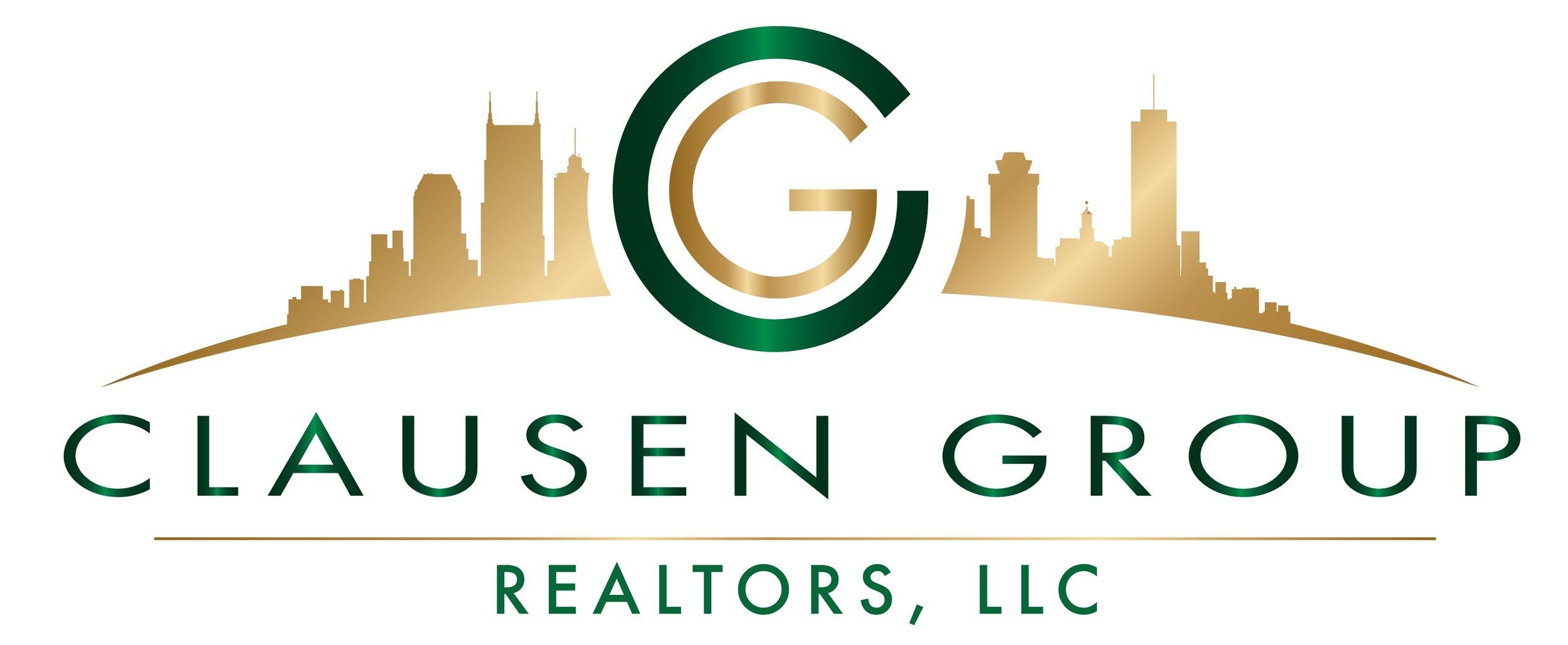 Clausen Group Realtors Large Logo -- JPEG File.jpg