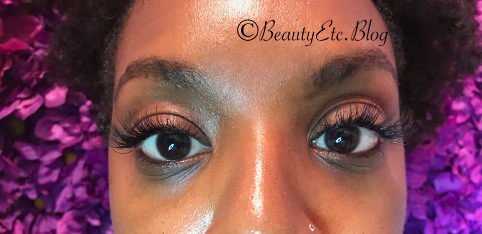 After  with Lash Extensions