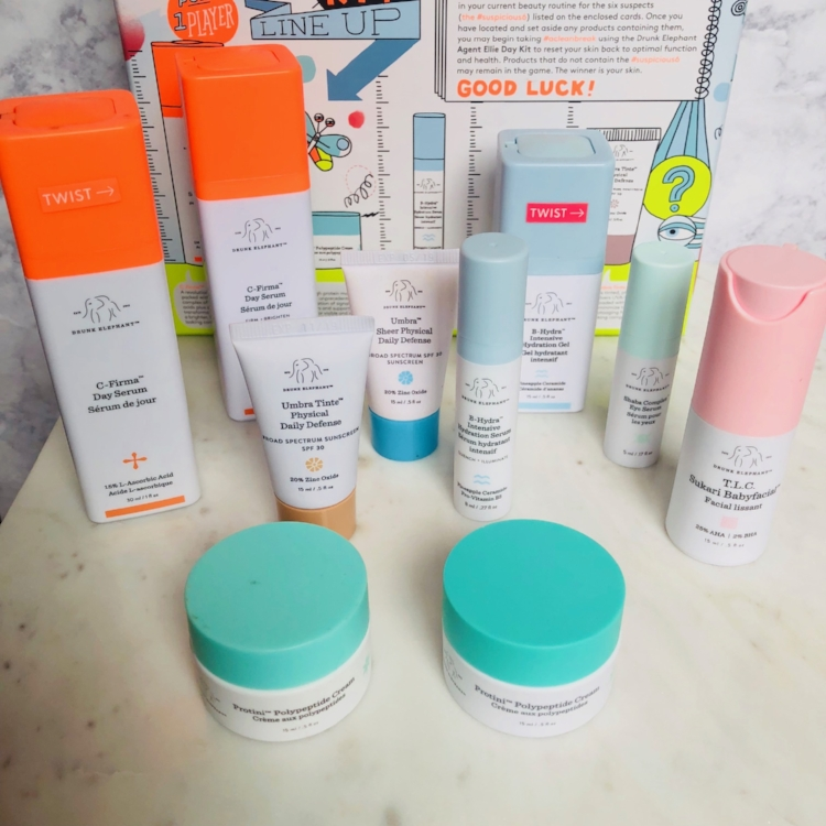 My current Drunk Elephant Collection (Clean Skincare)