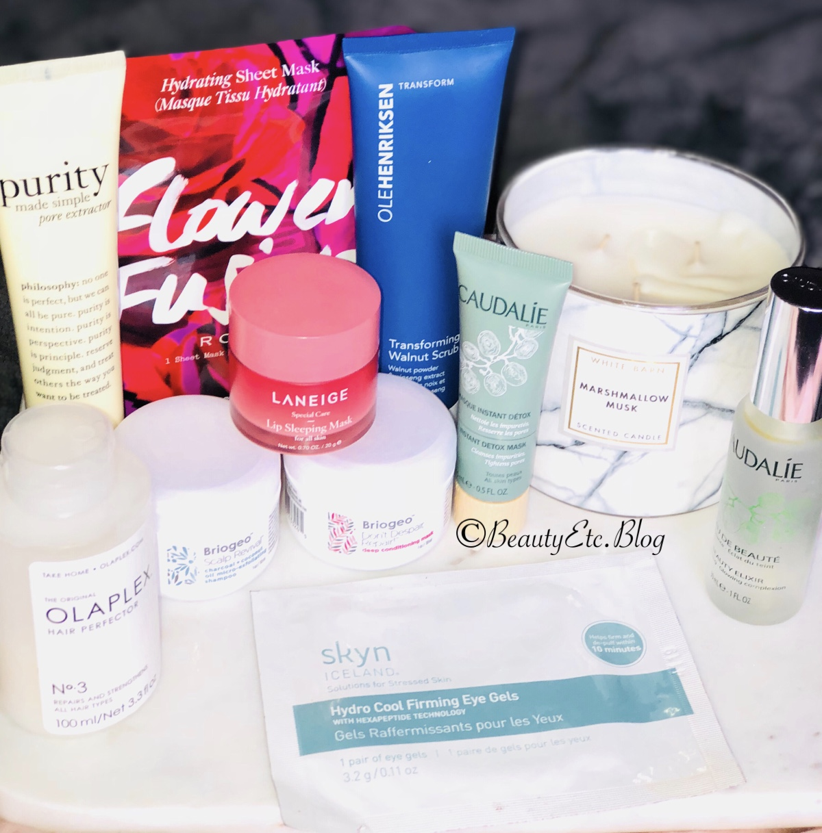 Just a few of my favorite beauty care items.
