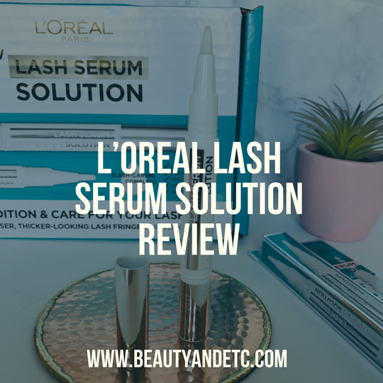 DISCLAIMER: This product was sent to me from Influenster for free to test out and review.*