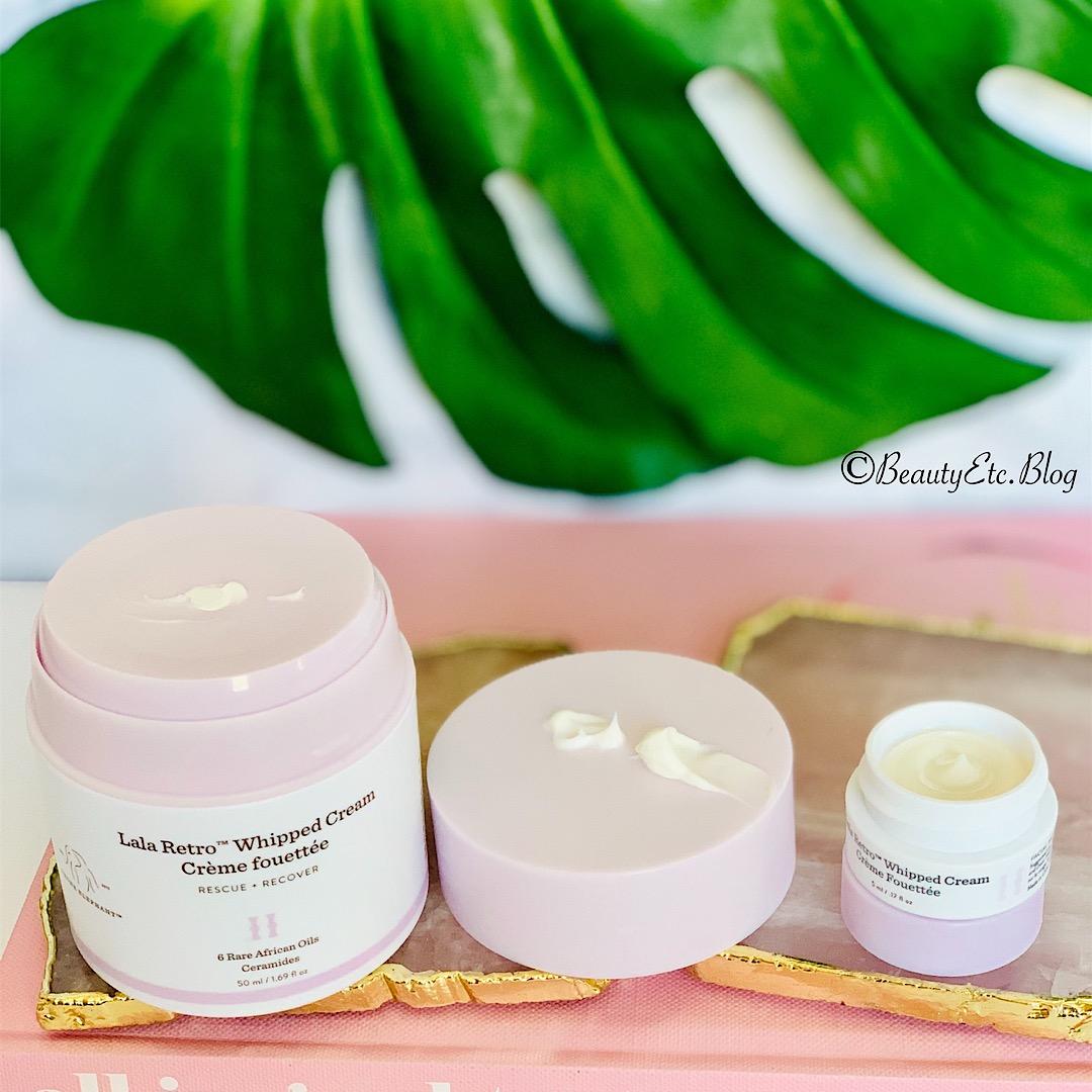 New Lala Cream on the Left - Original Lala Cream