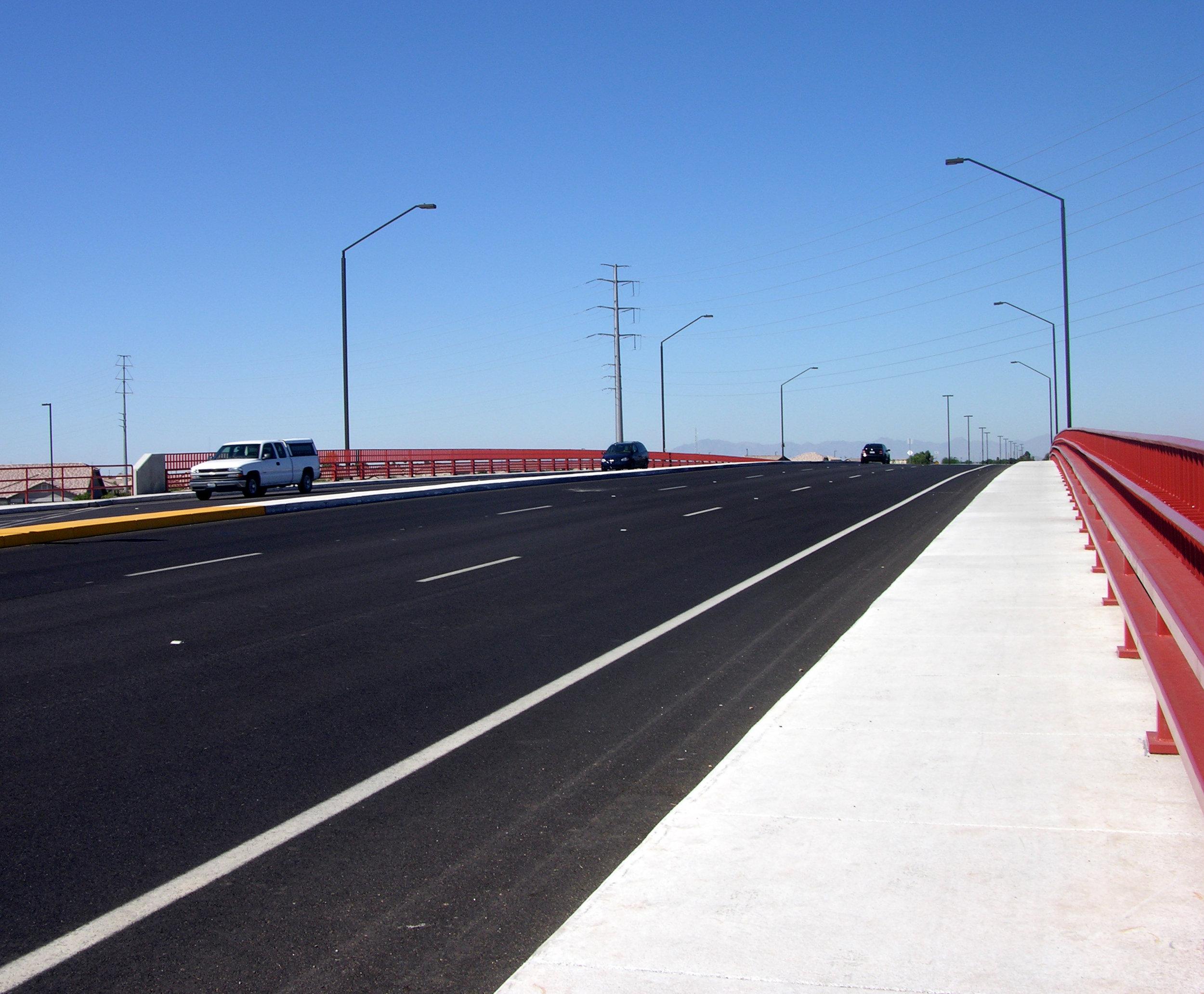 Pecos and Germann Road Bridges CMAR