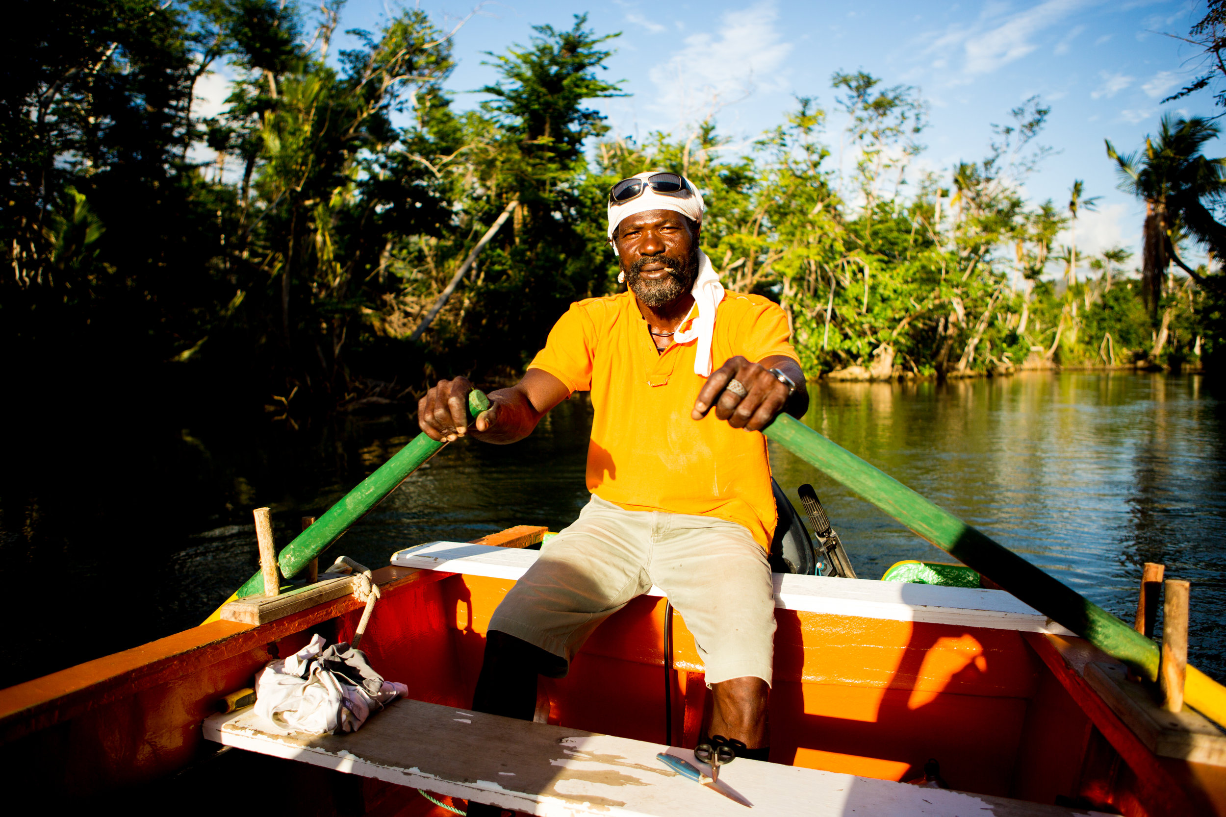 Titus, The Glorious 5:15 AM In The Morning Pirate, took us on the most EPIC Indian River Tour possible!