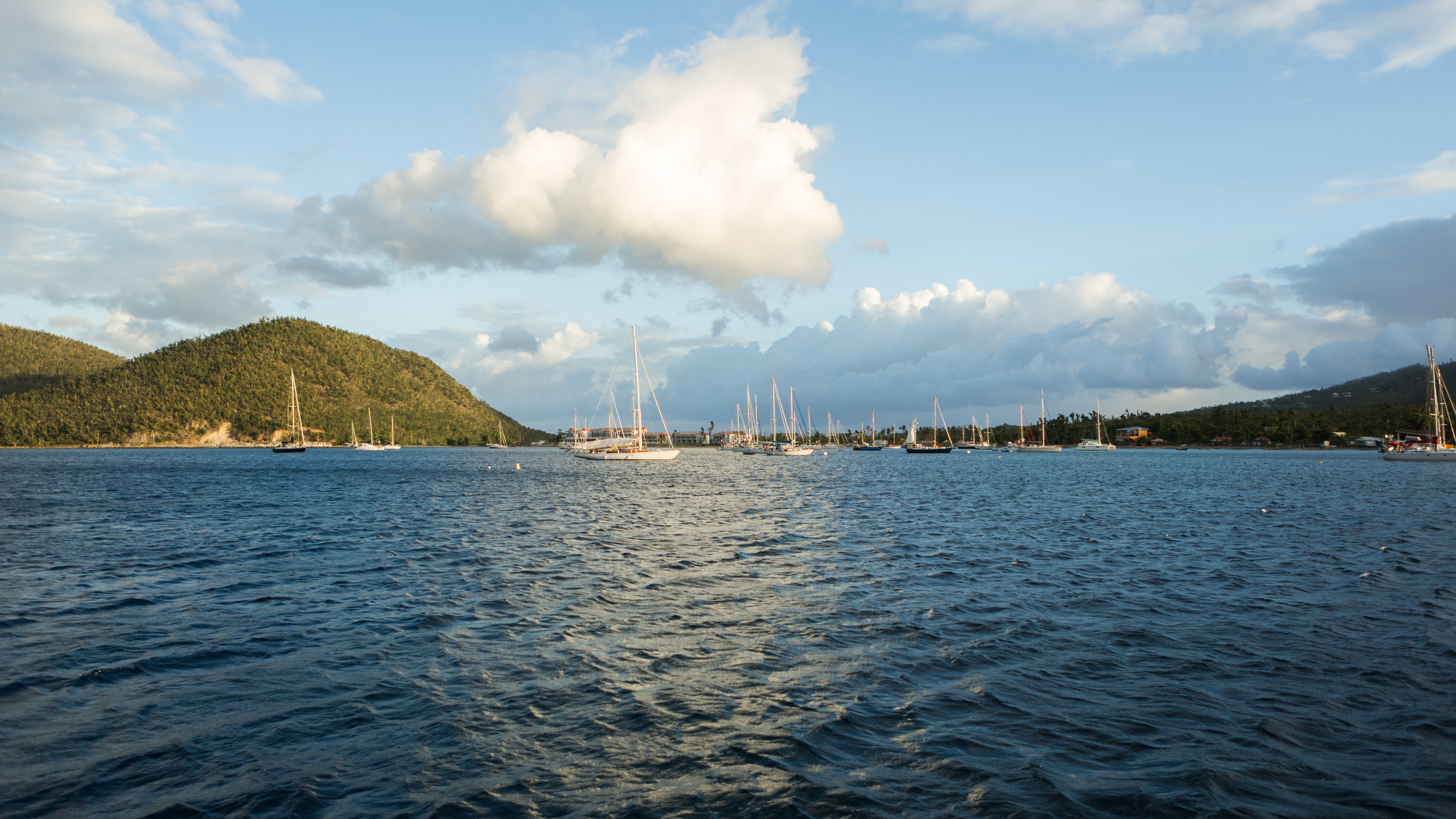 How to clear into custom in the caribbean on Dominica
