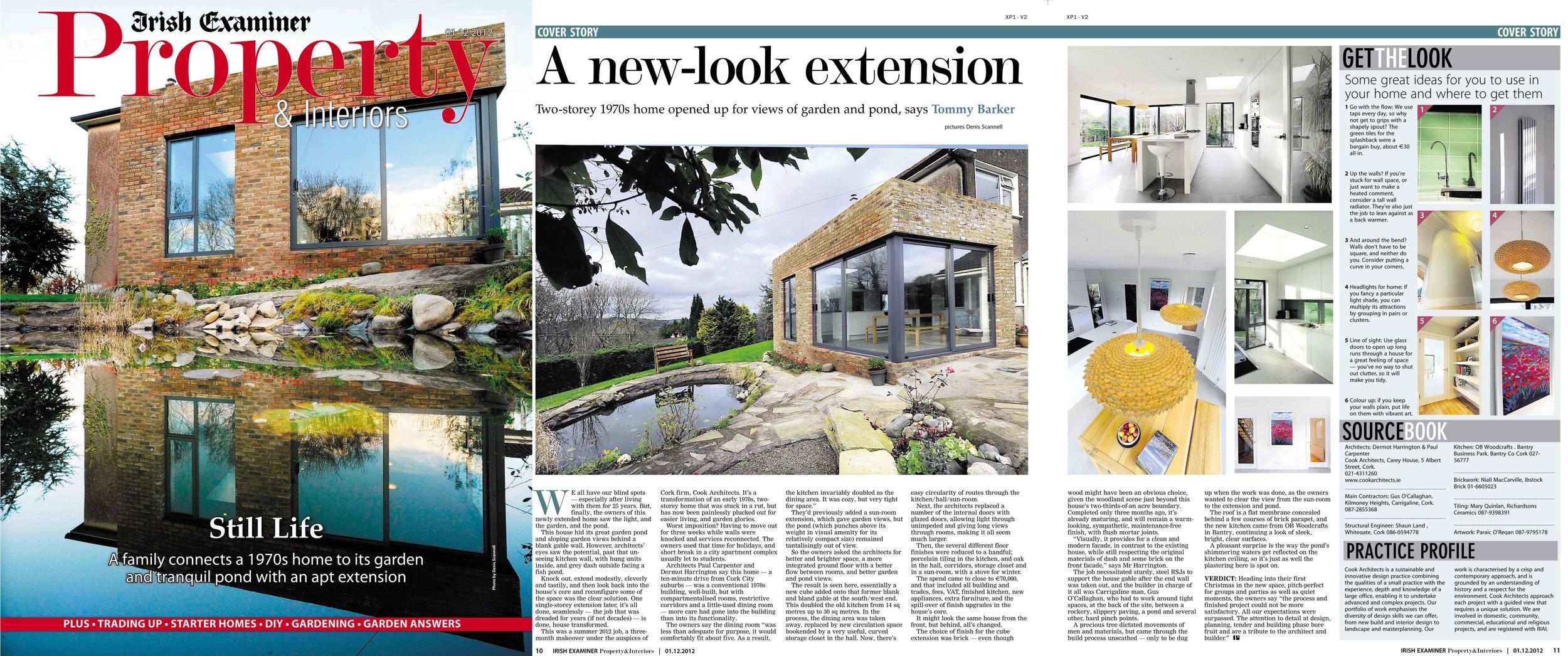 Irish Examiner 01.12.2012 - Irish Examiner - Property supplement December 2012