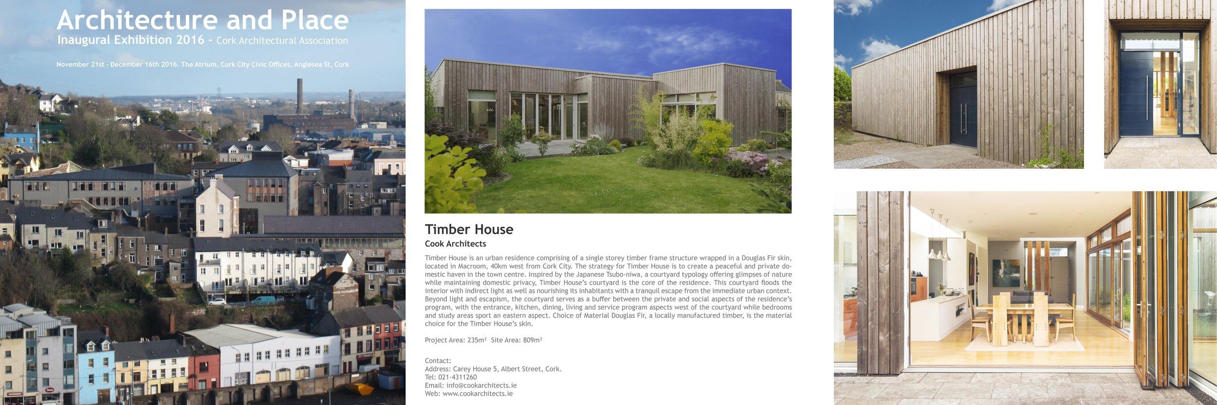 Architecture and Place 2016 - Architecture Exhibition - Cork Architectural Association