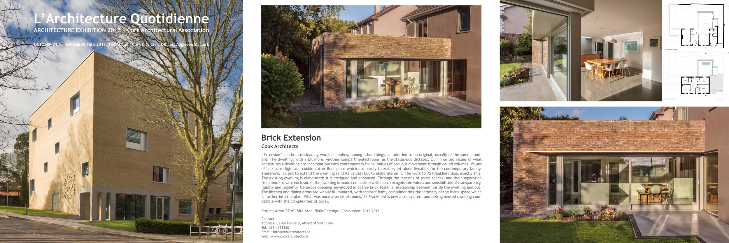 L'Architecture Quotidienne 2017 - Architecture Exhibition - Cork Architectural Association