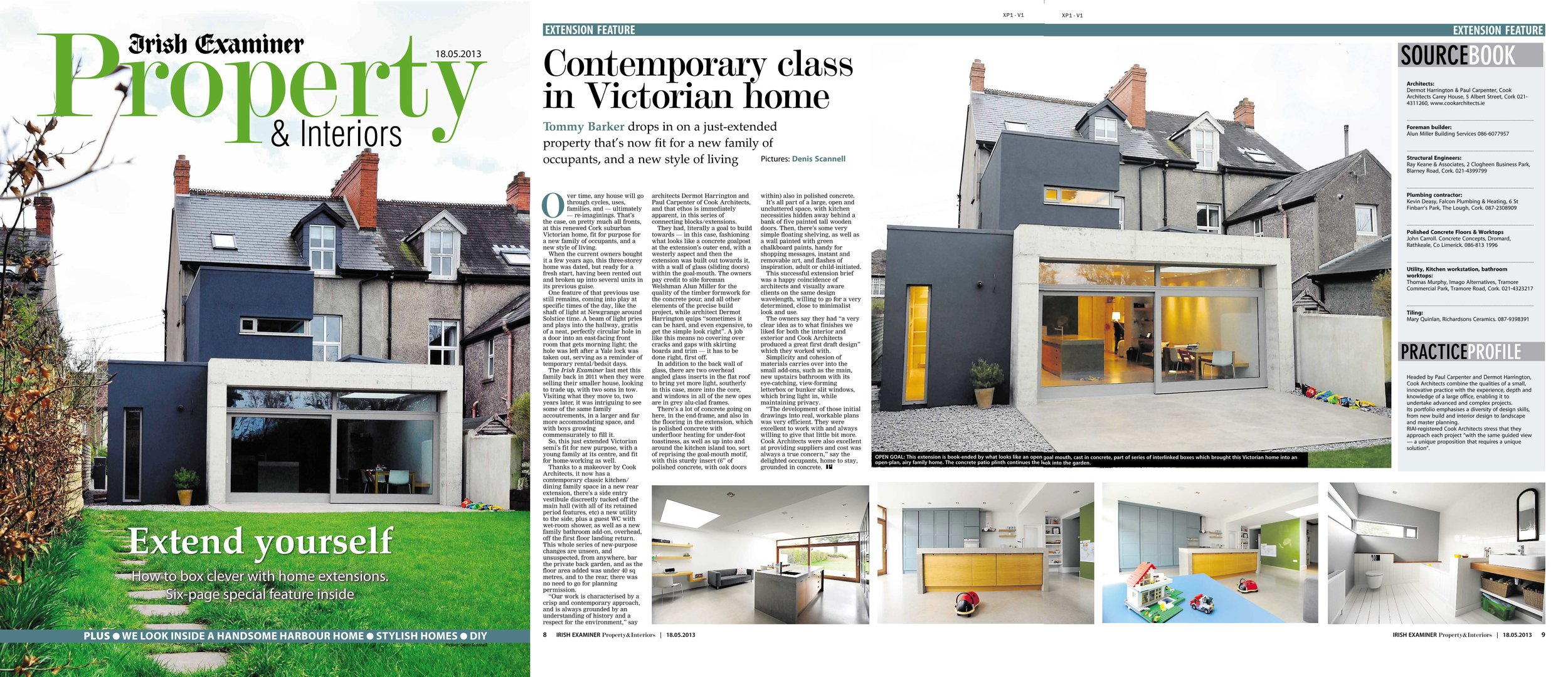 Irish Examiner 18.05.2013 - Irish Examiner - Property supplement May 2013