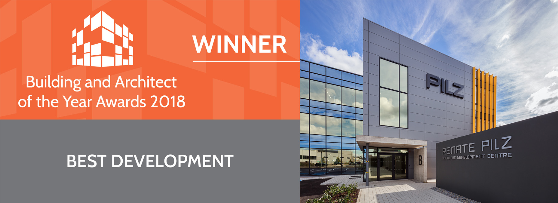 Building and Architect of the Year Awards 2018 - Winner - Best Development
