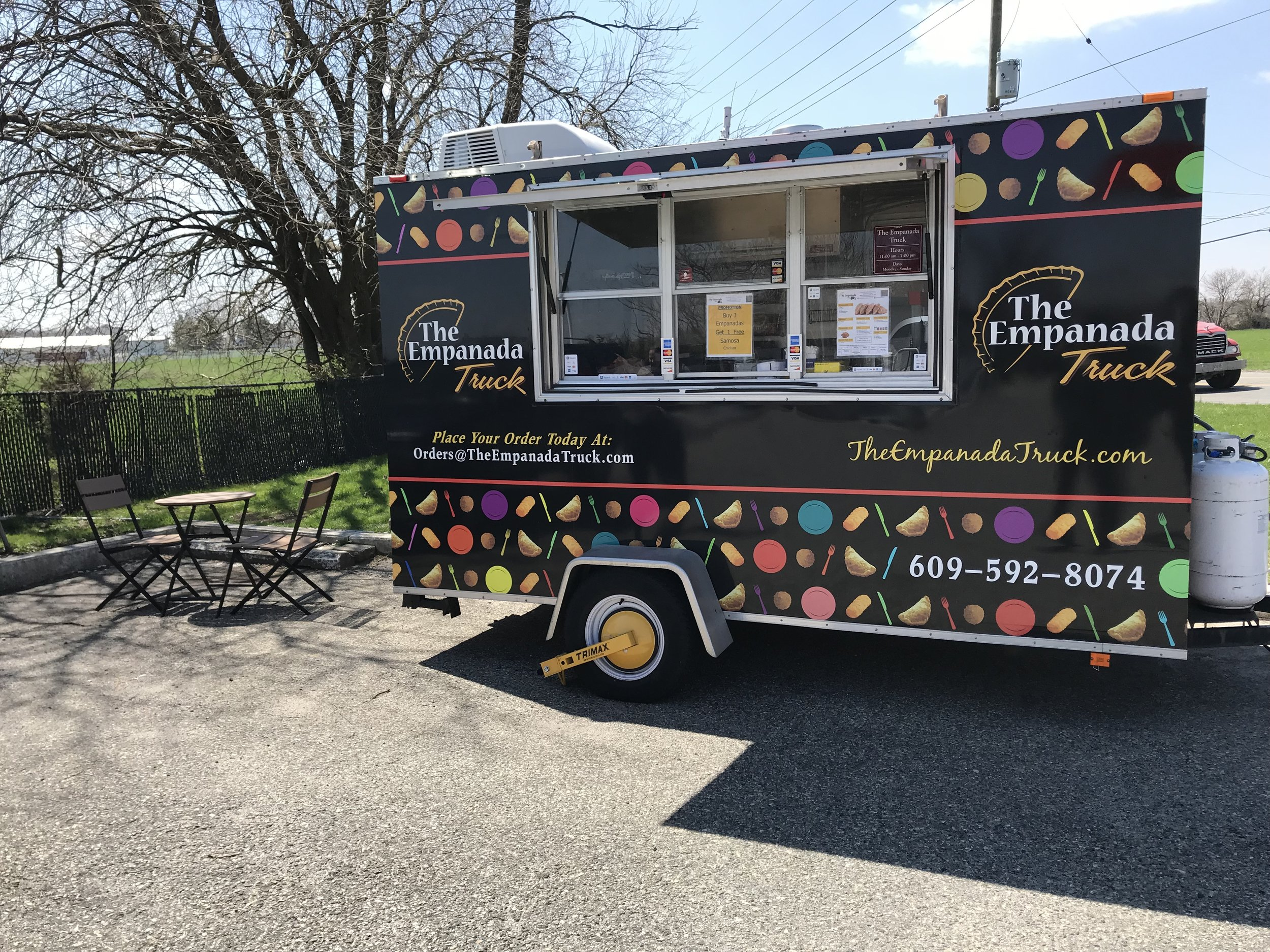 Truck #2 - Farmers Markets:Springfield - Monday 11 - 6 p.m.East Orange - Tuesday 12-7 p.m.Englewood - Friday 11-6 p.m.Sparta - Saturday 9-2 p.m.Chester - Sunday 10-3 p.m.