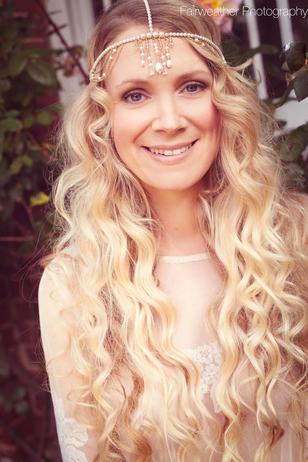 long hair bridesmaid goals boho wedding updo hairstyles for weddings