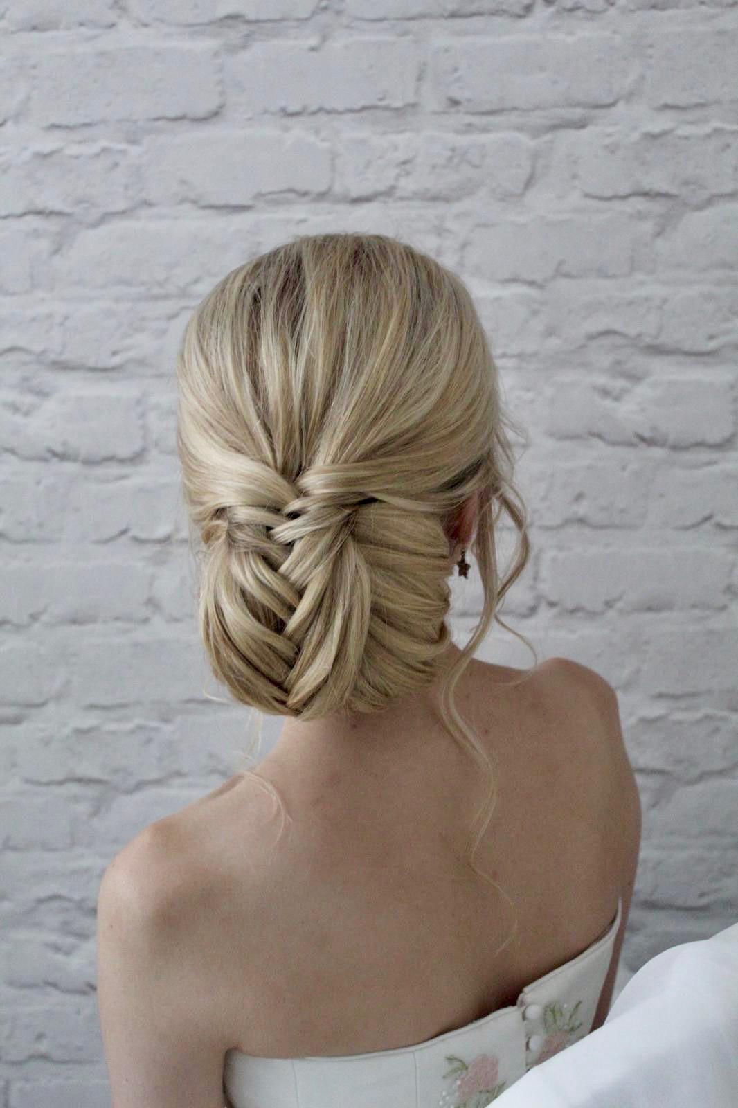 fishtail bun wedding hairstyles undos pretty hair