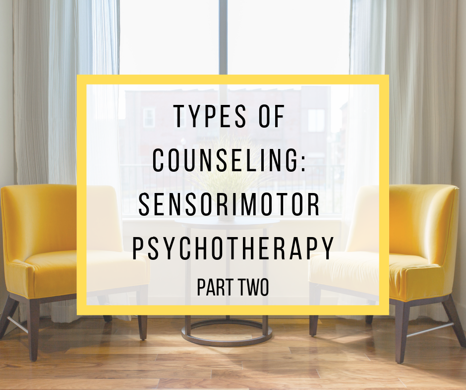 Types of Counseling: Sensorimotor Psychotherapy Part Two