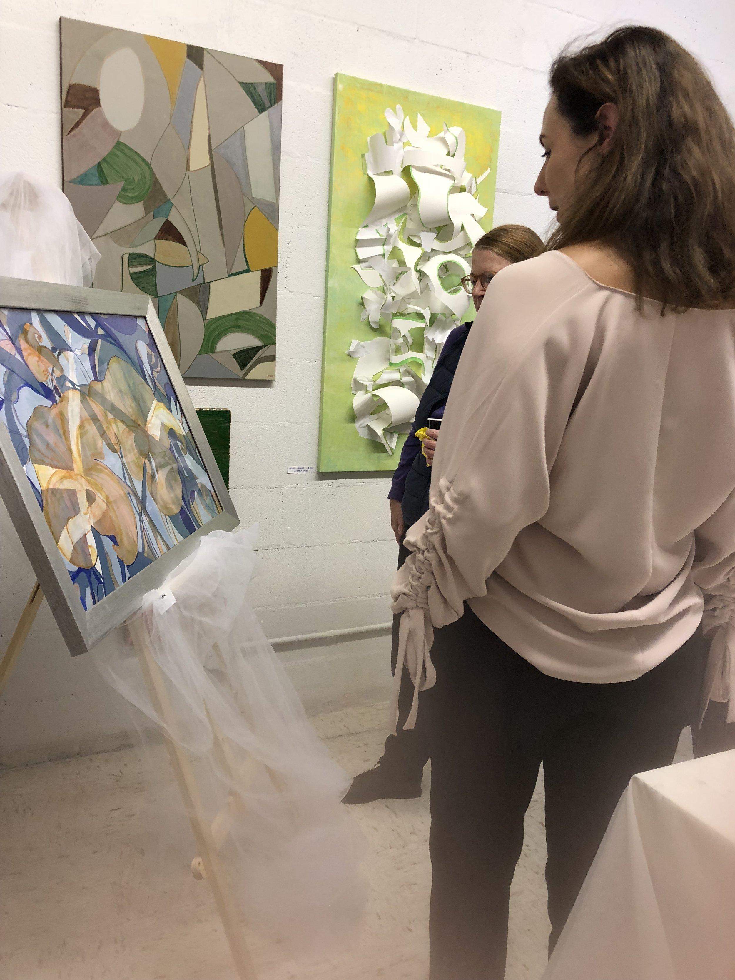 VERNISSAGE GREENLEAF ART CENTER OCT 19 2018