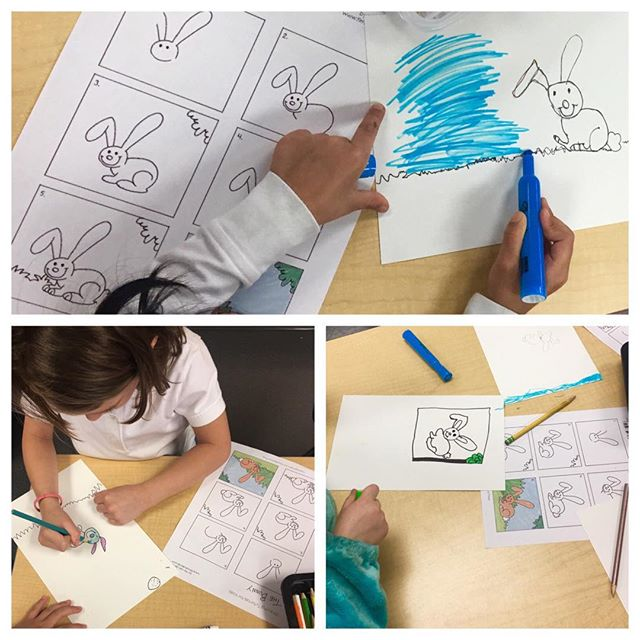 🌷🐇Kindergarten students are getting ready for the Easter Bunny 🐰