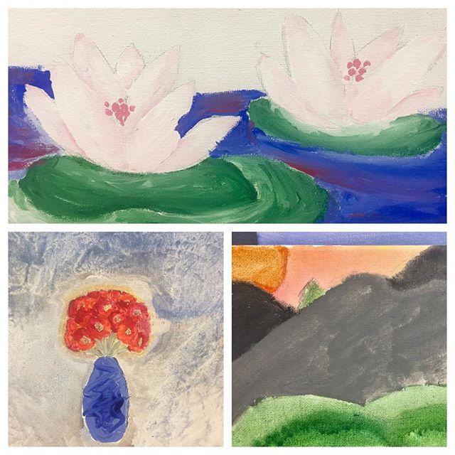 Claude Monet Inspired paintings 🖼