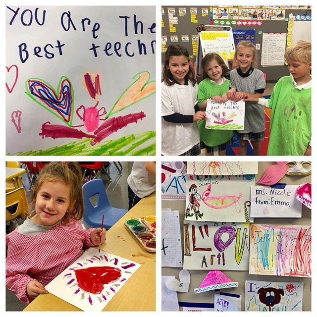 OSM Thank you for a wonderful teacher appreciation week 🎨🖐🏻 🍎🥰