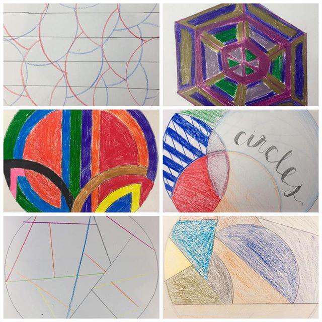 Frank Stella inspired geometric designs📐💠