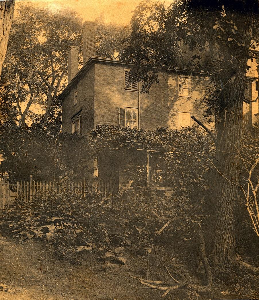 """The """"Garden"""" as it appeared in 1885"""