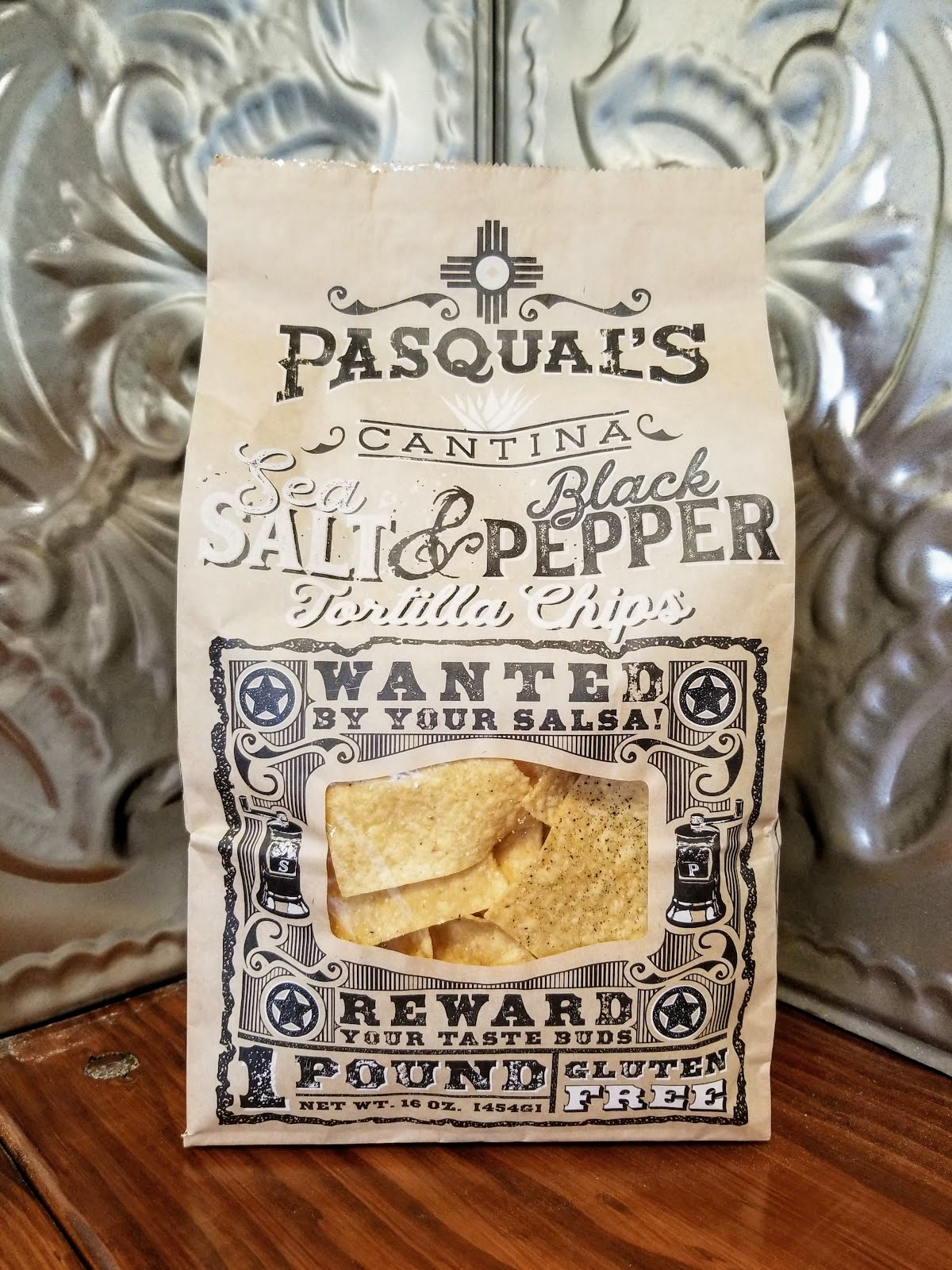 Sea Salt & Black Pepper TOrtilla Chips - Our same perfectly crisp and flaky tortilla chip, lightly salted and dusted with a hint of black pepper. That guacamole won't know what hit it.Click here for more product information.