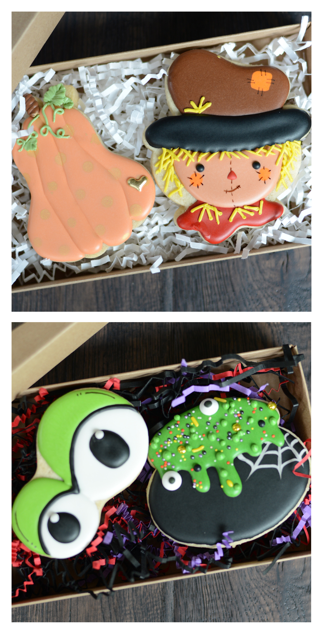 Seattle Custom Cookie Decorator, Halloween and Fall Cookies