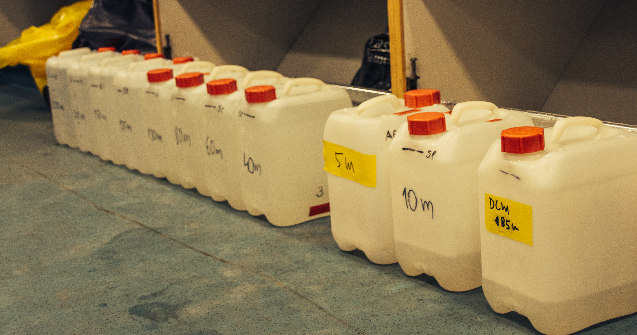 Dustco Aims plankton water samples