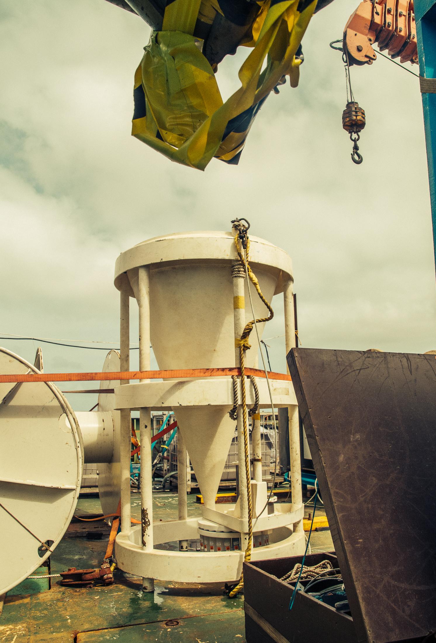 Dustco Aims JCR expedition sediment trap