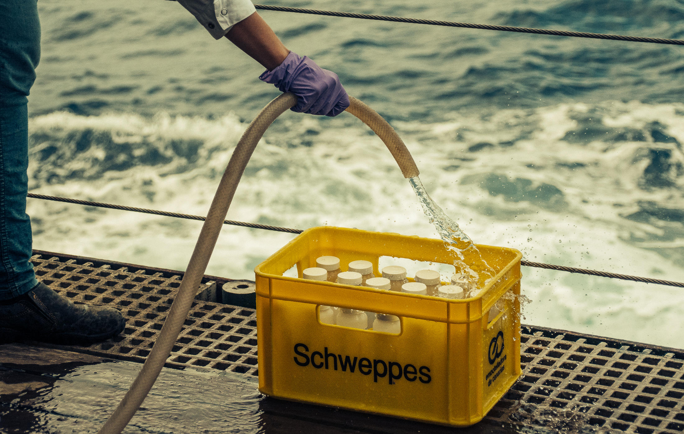 Dustco Aims JCR expedition sediment trap samples