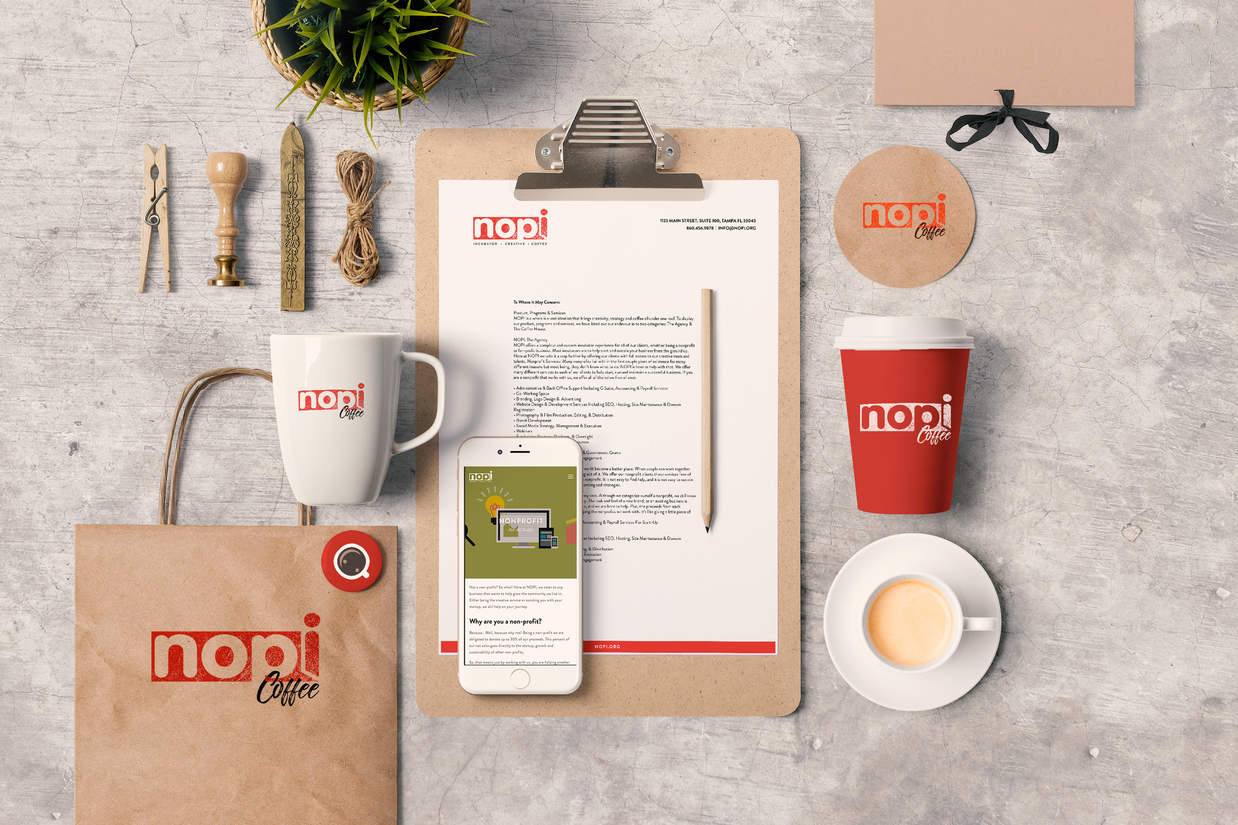 NOPI - Branding • Design • Logo • Website