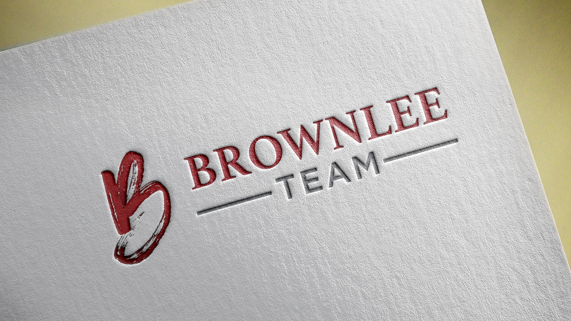 BROWNLEE TEAM - KW - Logo Design • Branding