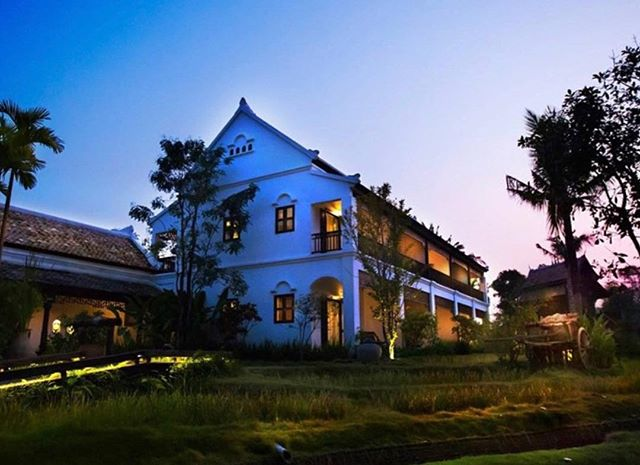 Unwind inside this Sino-Colonial style mansion, where elegance meets traditional Thai culture. #marndadee