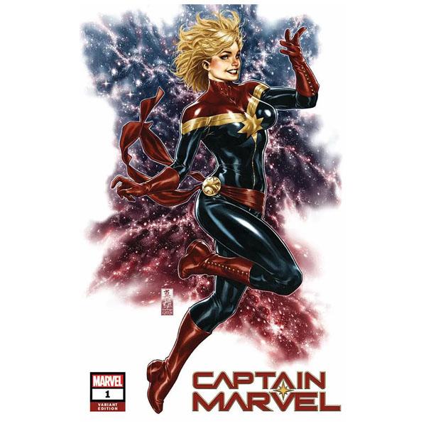 Captain Marvel 1 - Mark Brooks Variant - 25,000