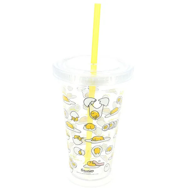 Gudetama Beaker With Straw - 25,000