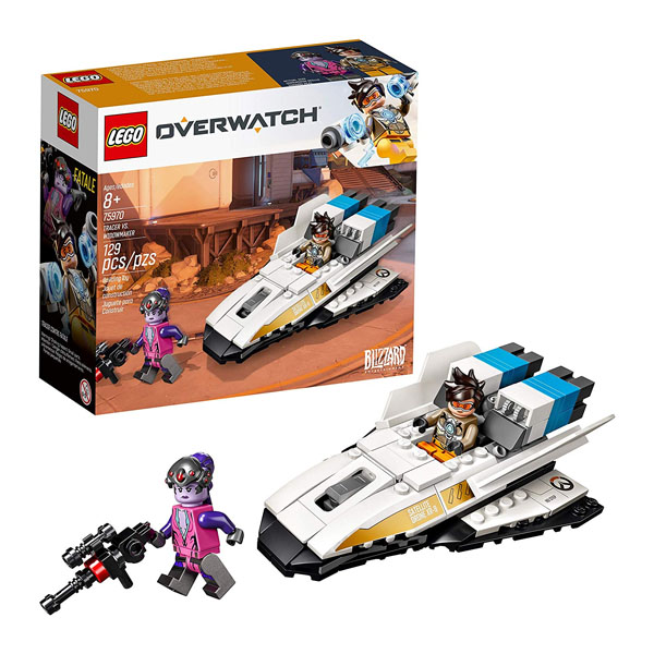 Lego Overwatch Tracer and Widowmaker - 50,000