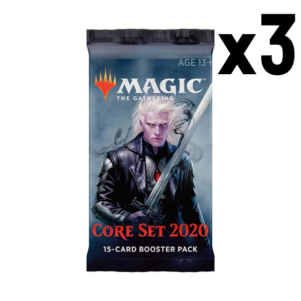 MTG Core Set 2020 Booster Pack x3