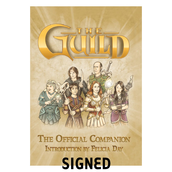 The Guild Official Companion Signed by Felicia Day
