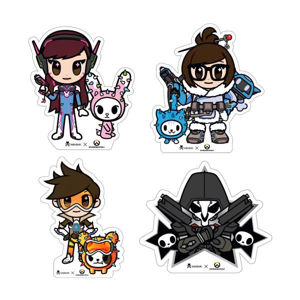 Tokidoki X Overwatch Sticker Pack