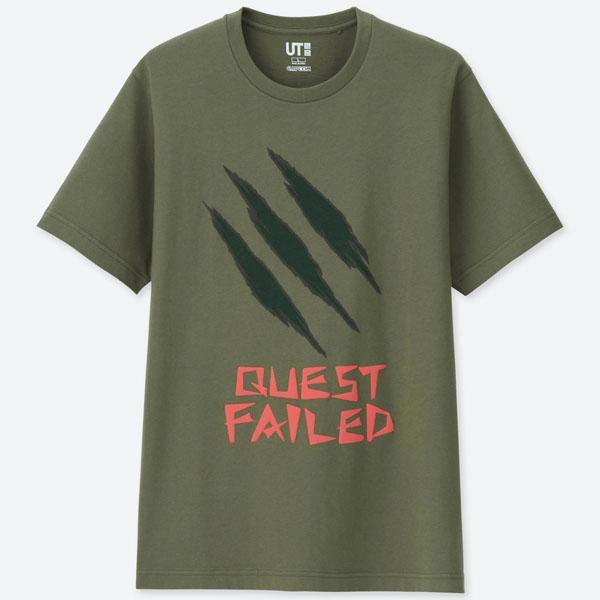 Uniqlo Monster Hunter Quest T-Shirt - M , L
