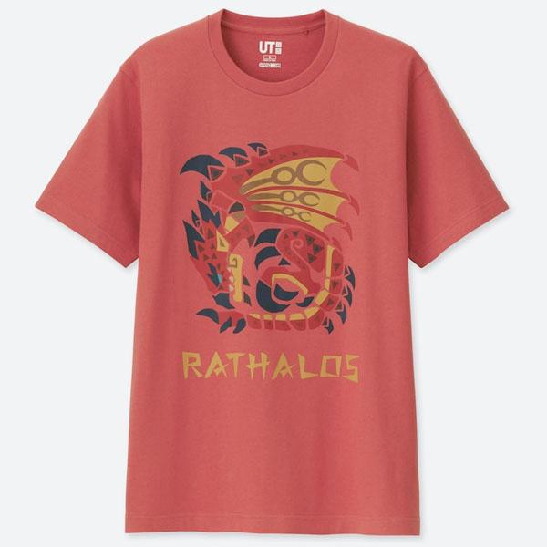 Uniqlo Monster Hunter Rathalos T-Shirt - S , XL