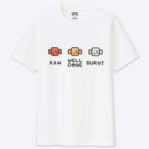 Uniqlo Monster Hunter Steak T-Shirt - S , L, XL , XXL