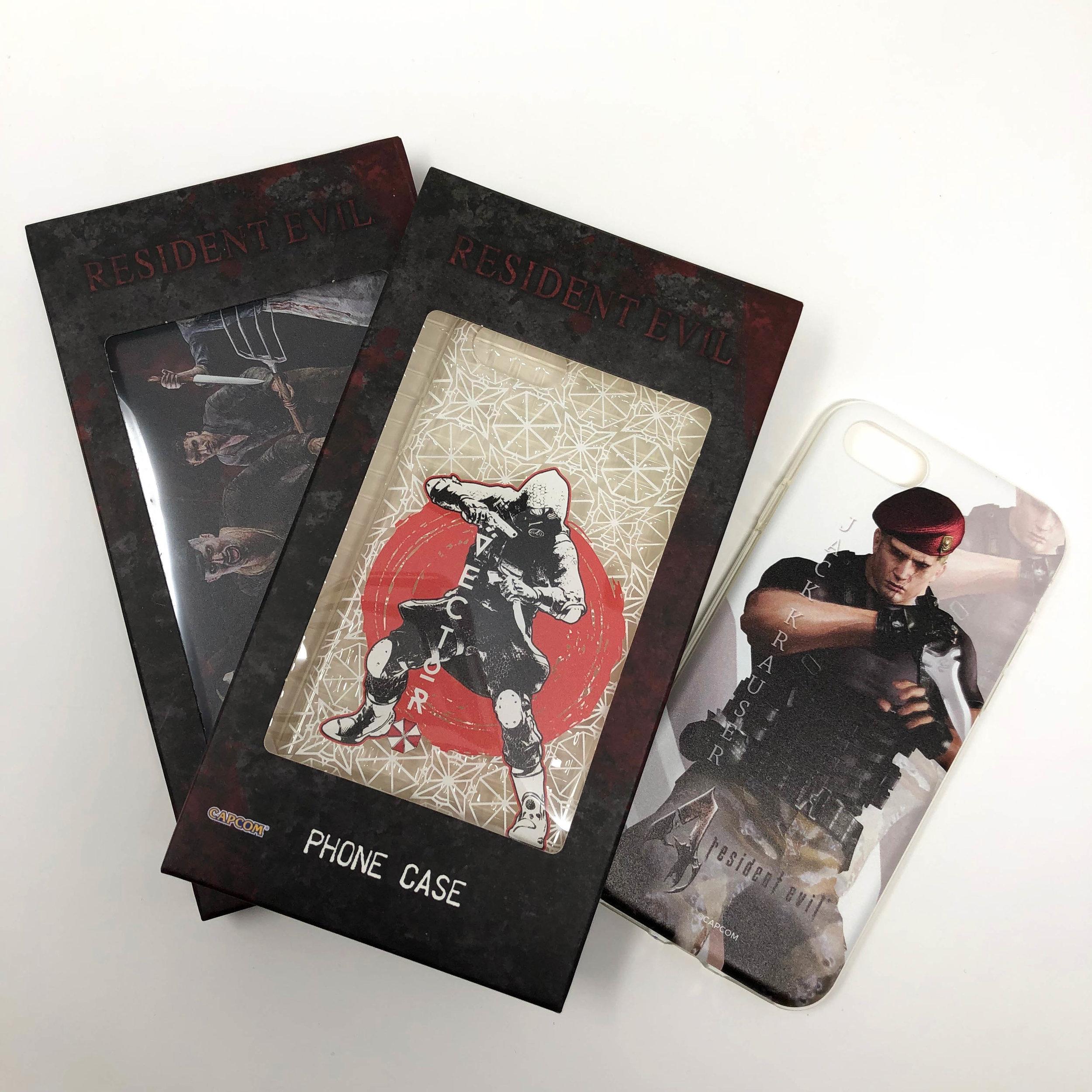 Resident Evil iPhone 7 Soft Phone Case (Random)