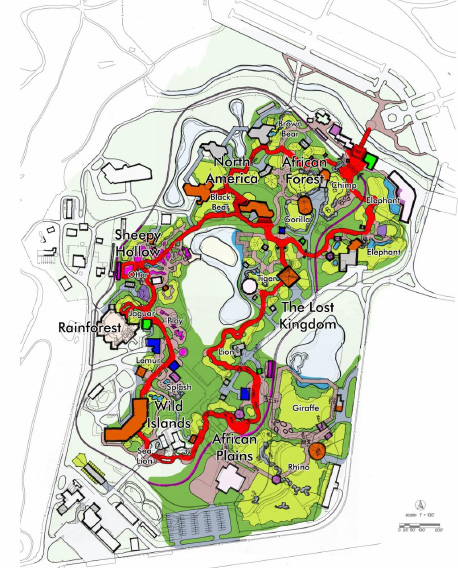Tulsa Zoo Master Plan, from Tulsa Zoo