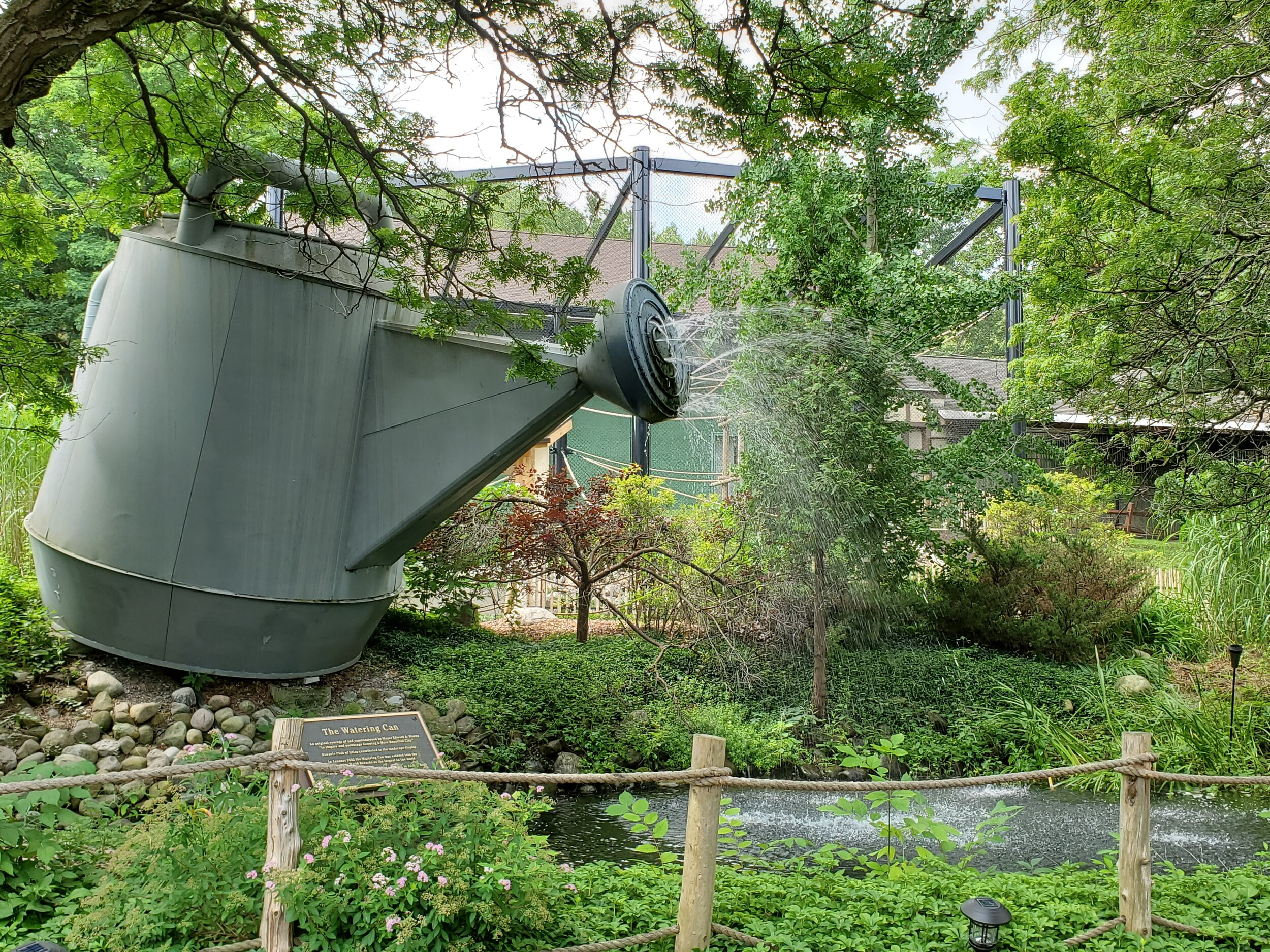 World's largest watering can